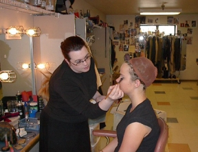 TOMMY make-up test