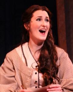 Victoria Huston-Elem as Jo March in Little Women