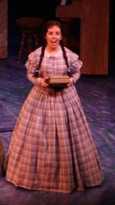 Michaela Koerner as Beth March in Little Women