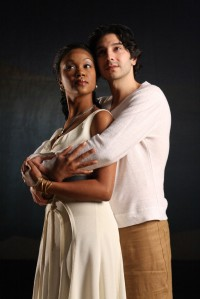 Marliss Amiea (Aida) and Michael Murnoch (Radames)