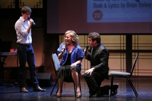 Aaron Tveit, Alice Ripley, and Brian d\'Arcy James (NEXT TO NORMAL)
