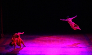 Bertram Johnson, Tanesha Ross, and Bojohn Diciple in The Exotic Dance