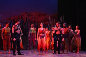 Tanesha Ross as Nehebka in AIDA