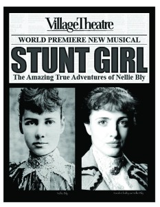 Nellie Bly and Sarah Cahlfy as Nellie Bly